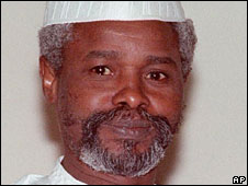 Chad's former President Hissene Habre (File photo: 1990)