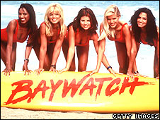 The female cast of Baywatch in 1999