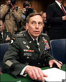 General David Petraeus testifying on 8/4/08