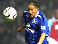 South Africa and Everton striker, Steven Pienaar
