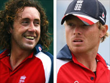Ryan Sidebottom and Ian Bell