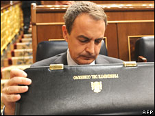 Jose Luis Rodriguez Zapatero on 8 April 2008
