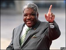 Zambian President Levy Mwanawasa