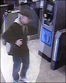 CCTV images of Mark Speight