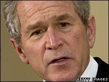 President George W Bush