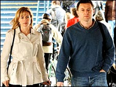Kate and Gerry McCann travelling to Brussels
