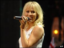 Natasha Bedingfield at the Concert for Diana