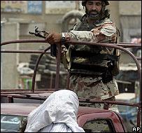 Soldier in Karachi