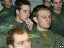 Prince William in classroom