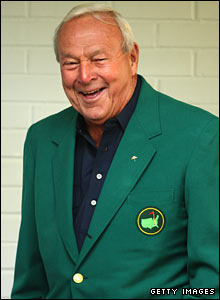 Former Masters champion Arnold Palmer