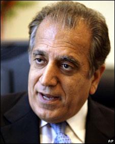 US Ambassador to the Untied Nations Zalmay Khalilzad, 18 May, 2007