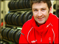 Ospreys Elite Performance Director Andrew Hore