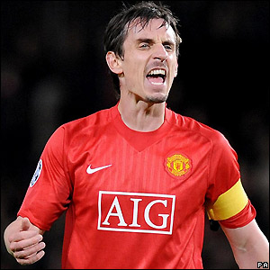 Neville assumes the captaincy
