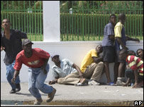 Protestas en Haití (08/04/08)