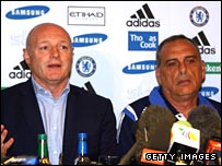 Peter Kenyon and Avram Grant