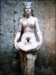 Statue (Image: BBC)