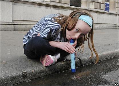 Легко ли в столице напиться водицы?
