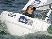 Paralympic sailor Helena Lucas. Pic: Dan Nerney/Rolex