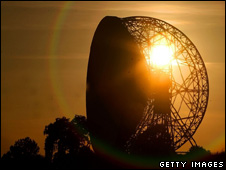 Lovell Telescope at Jodrell Bank (Getty)