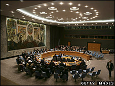 File photo of the Security Council at UN headquarters in New York, October 2006