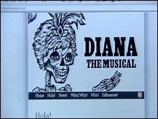 Diana the Musical website
