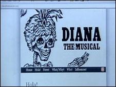 Diana the Musical website