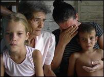 Familia de lemus de Bahía Honda (Foto: Raquel Pérez)