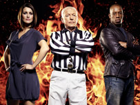 Kirsty Gallacher, John Anderson and Ian Wright