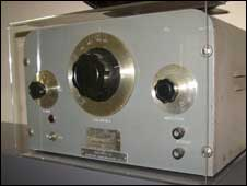 One of the first HP oscillators, BBC