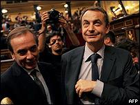 José Luis Rodríguez Zapatero, presidente del Gobierno de España.