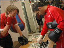 Chessboxing at Islington Boxing Club