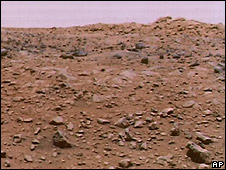 Surface of Mars (file pic)