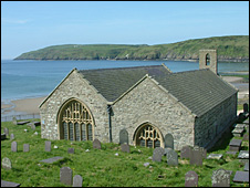 St Hywyn's Church, Aberdaron