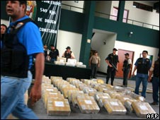 Cocaine seized in Peru