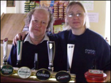Dave and Deryn Jones (picture: the Powis Arms)