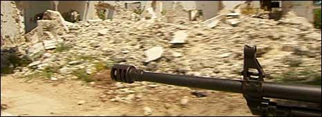 Damage in Mogadishu