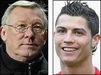 Sir Alex Ferguson and Ronaldo enjoyed a fine March for Manchester United