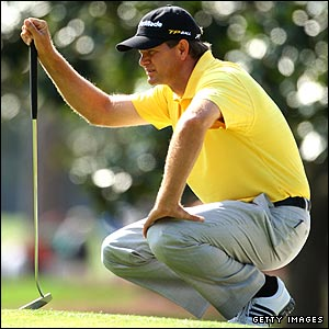 Retief Goosen puts himself in contention