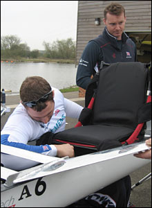 Rower Tom Aggar