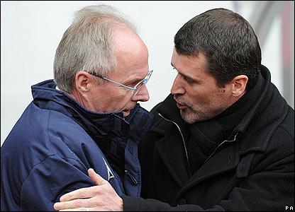 Sunderland boss Roy Keane welcomes his counterpart