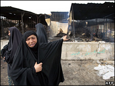 Woman in Sadr City, 12 April