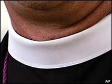 Clerical dog collar