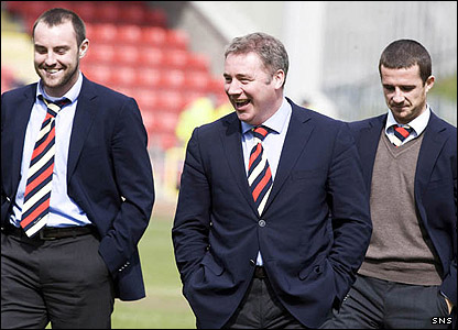 Boyd, McCoist and Ferguson