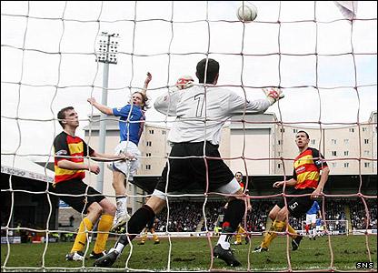 Burke's goal