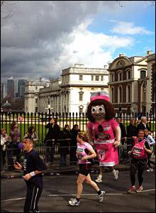 Marathon in Greenwich. Copyright: Benedict Hilliard