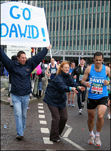Marathon in Canary Wharf. Copyright: Francesca Kinghorn