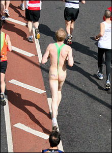 Borat runner. Copyright: Francesca Kinghorn