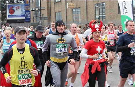 Batman runner. Copyright: Keith Larby