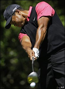 Tiger Woods pours on the power