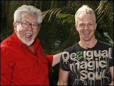 Rolf Harris and Mark Speight